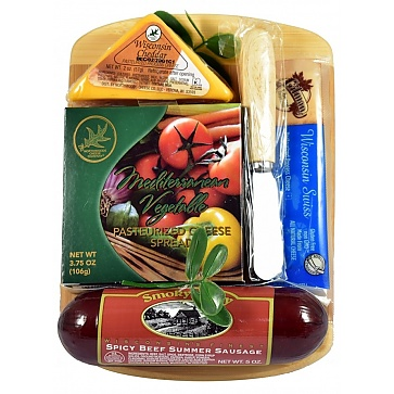 The Junior Board Meat and Cheese Gift