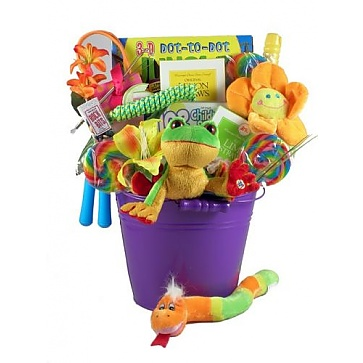 Playtime For Kids Gift Basket - Tree Frog