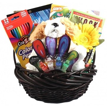 Kids Only Activity Gift Basket