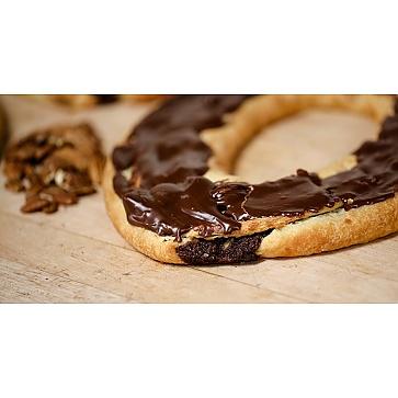 Lane's Bakery Legendary Chocolate Pecan Fudge Kringle