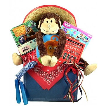Little Buckaro Western Basket For Kids