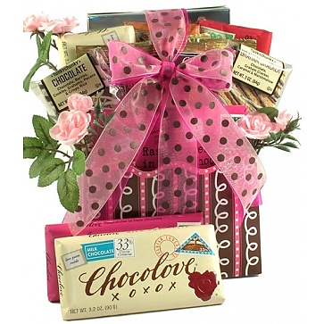 Love Letters Romantic Gift Basket