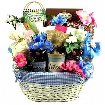 Love You Mom! Mother's Day Gift Basket