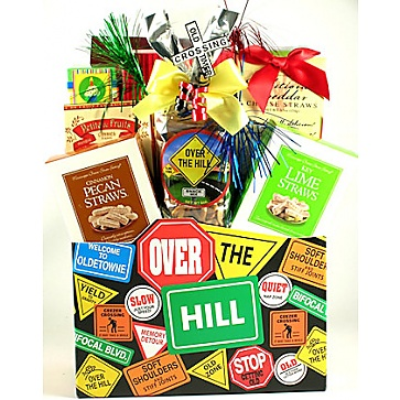 Over The Hill Birthday Gift Box
