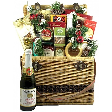 Christmas in Central Park Holiday Gift Basket