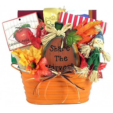 Pumpkin Patch Fall Gift Basket - Medium