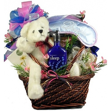 Rest and Renewal Aromatherapy Spa Gift Basket