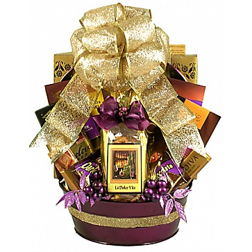 Royal Decadence Gift Basket (Large)