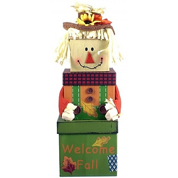 Autumn Greetings Gift Tower