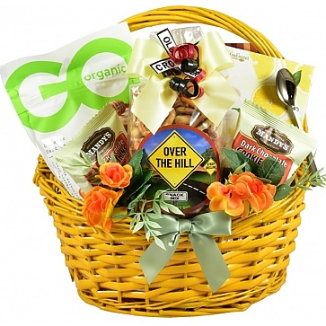 A Senior Moment Birthday Gift Basket