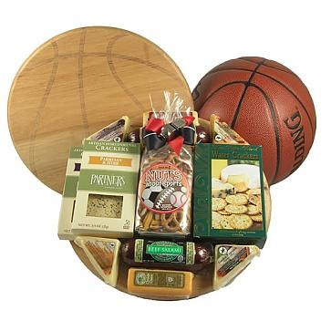 Slam Dunk Basketball Gift Basket