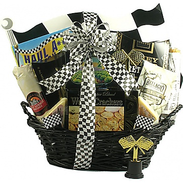 Start Your Engines Deluxe Racing Gift Basket