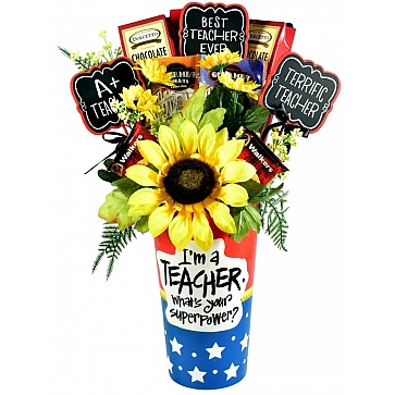 Teaching is My Superpower - Teacher Gift Basket