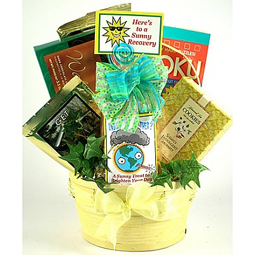 To Brighten Your Day Gift Basket