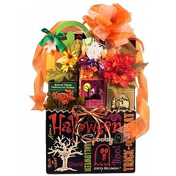Trick-Or-Treat Halloween Gift Basket - Large