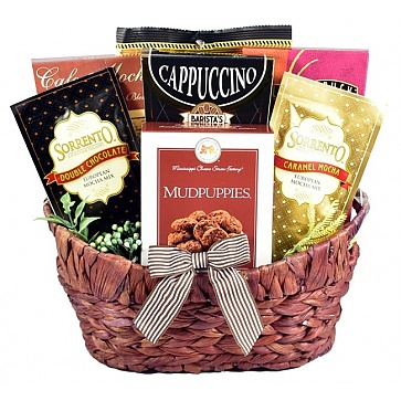 Village Caffe Coffee Lovers Gift Basket