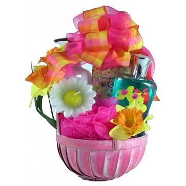 Wild Apple Daffodil Spa Basket