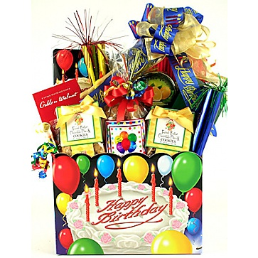 Your Special Day Birthday Gift Basket