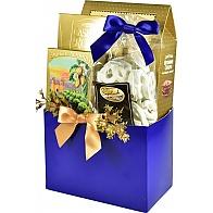 Elegant Gourmet Hanukkah Gift Basket (Small)