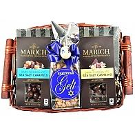 Happy Hanukkah Gift Basket