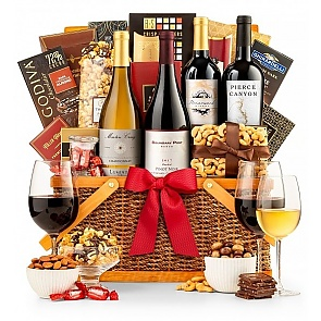 The Monterey Wine Gift Basket - The Monterey Wine Gift Basket