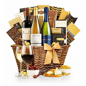 The Santa Barbara Wine Gift Basket - The Santa Barbara Wine Gift Basket
