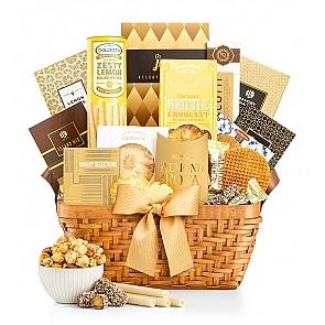 As Good As Gold Gift Basket - As Good As Gold Gift Basket