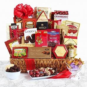Holiday Extravaganza Gift Basket - Holiday Extravaganza Gift Basket - #ChristmasGiftBaskets