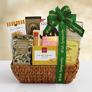 Forever in Your Heart Sympathy Gift Basket - Forever in Your Heart Sympathy Gift Basket