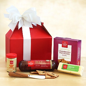 Hickory Farms Holiday Sampler Care Package - Hickory Farms Holiday Sampler Care Package