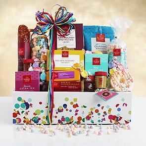 Birthday Bounty of Sweets & Treats Gift Basket - Birthday Bounty of Sweets & Treats Gift Basket