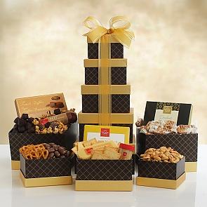 Signature Snacks Premium Gift Tower  - Signature Snacks Premium Gift Tower