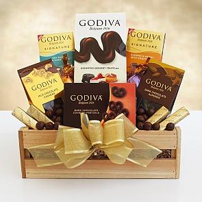 Godiva Sampler Gift Crate - Godiva Sampler Gift Crate