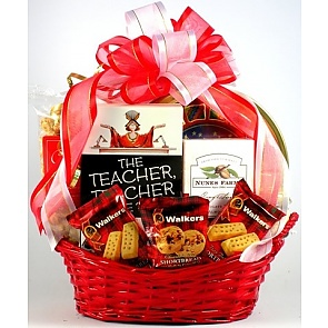 For The Teacher Gift Basket - For The Teacher Gift Basket