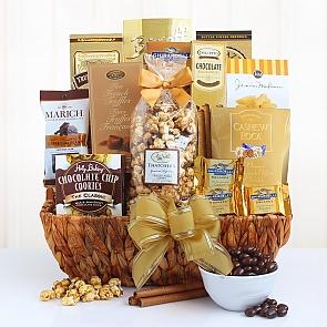 Delightful Decadence Desert Gift Basket - Delightful Decadence Desert Gift Basket