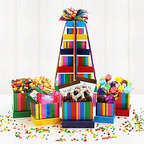 Birthday Bonanza Tower of Treats  - Birthday Bonanza Tower of Treats