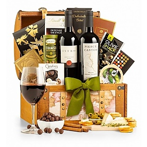 California Cabernet Duo Wine Gift Basket - California Cabernet Duo Wine Gift Basket
