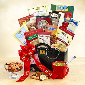 Get Well Wishes Gift Basket - Get Well Wishes Gift Basket