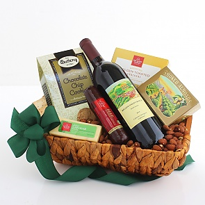 Cheers! California Wine Basket - Cheers! California Wine Basket