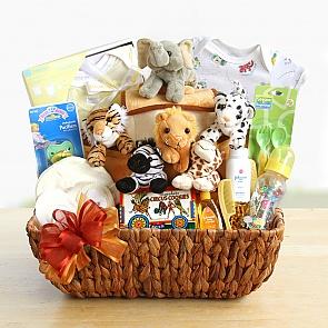 Noah's Ark New Arrival Gift Basket - Noah's Ark New Arrival Gift Basket