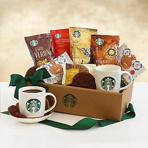 Classic Starbucks Coffee and Cocoa Gift Box - Classic Starbucks Coffee and Cocoa Gift Box
