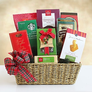 Holiday Festive Feast Gift Basket - Holiday Festive Feast Gift Basket