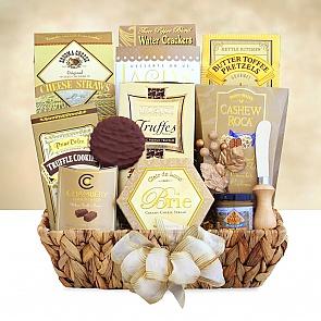 Gourmet Gratitude Gift Basket - Gourmet Gratitude Gift Basket