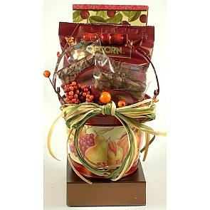 Harvest Sampler - Fall Gift Basket - Harvest Sampler - Fall Gift Basket