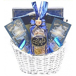 Eight Days of Hanukkah Gift Basket - Hanukkah Gift Baskets - Chanukah Gifts