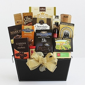 Fine and Fancy Gourmet Gift Basket - Fine and Fancy Gourmet Gift Basket