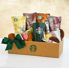 Starbucks Coffee Mornings Gift Box  - Starbucks Coffee Mornings Gift Box