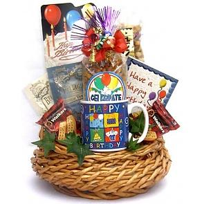Birthday Bash Gift Basket -