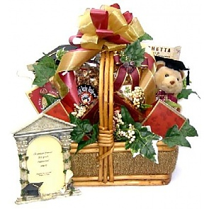 Congrats Grad Gift Basket (Medium) -