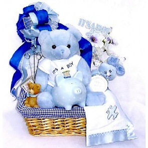First Moments Gift Basket -